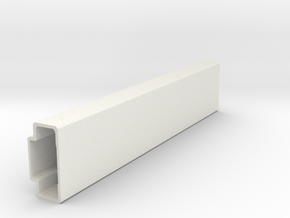 Beam-support-leg in White Natural Versatile Plastic