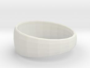 Ima Edgededges Ring in White Natural Versatile Plastic: 7 / 54