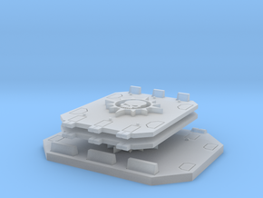 Nova Skull Jeriho Tank Hatch and Doors in Smooth Fine Detail Plastic