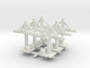Crane x6 in White Natural Versatile Plastic