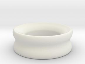 Stretcher : Tunnel in White Natural Versatile Plastic