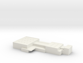 1/1250 Scale SAC Office 2 in White Natural Versatile Plastic
