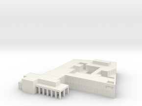 1/1250 Scale SAC Office 1 in White Natural Versatile Plastic