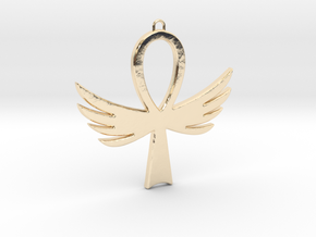Ankh-4 in 14K Yellow Gold