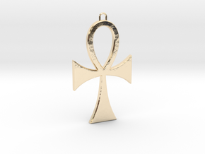 Ankh-5 in 14K Yellow Gold