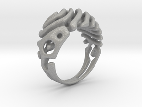 "Ring ""Wave"" in Aluminum"