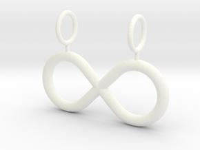 Infinity in White Processed Versatile Plastic