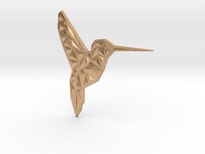 Hummingbird  in Natural Bronze