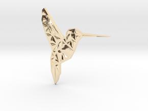 Hummingbird  in 14K Yellow Gold
