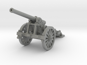 1/160 De Bange cannon 155mm in Gray PA12
