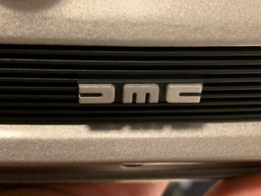 1:8 BTTF DeLorean Front Grille in Smoothest Fine Detail Plastic