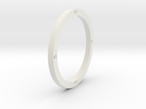 JRC-117 2.2 BEADLOCK RING (4 HOLE) in White Natural Versatile Plastic