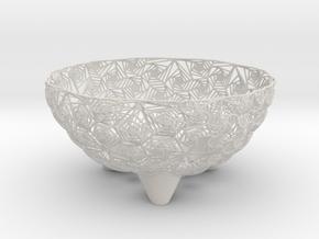 Fruit Bowl in Matte Full Color Sandstone