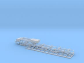 Tripper Car Belt Conveyor Feeder Head w/Catwalk in Smooth Fine Detail Plastic