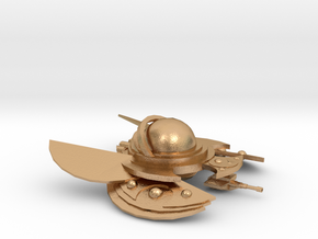 The Alien Swarmer in Natural Bronze