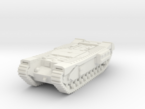 Churchill ARV scale 1/87 in White Natural Versatile Plastic