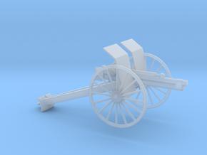 1/100 Scale M1916 75MM Gun in Smooth Fine Detail Plastic