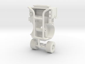 1/87 2018/19 Philadelphia Pierce Tiller Tractor Re in White Natural Versatile Plastic