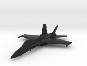 McDonnell Douglas F/A-18D Hornet in Black Natural Versatile Plastic