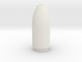 Gefechtskopf Torpedo G7e 1:24 in White Natural Versatile Plastic