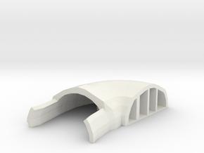 Tubo areazione icaro 1/2 in White Natural Versatile Plastic