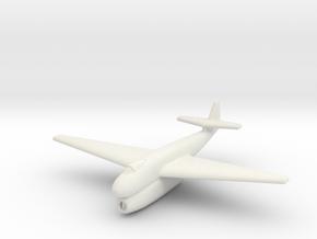 (1:285) Blohm & Voss BV P198.01 (Straight wings) in White Natural Versatile Plastic