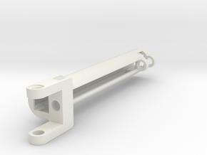 gearrack actuator Case v3.1 Stroke 11 Studs in White Natural Versatile Plastic