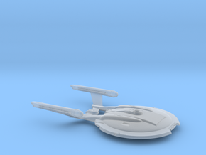 NX Class 1/3125 scale - Attack Wing / 7.2cm - 2.8i in Smooth Fine Detail Plastic