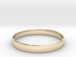 Ima Edgededges Bangle - Bracelet in 14K Yellow Gold: Extra Small