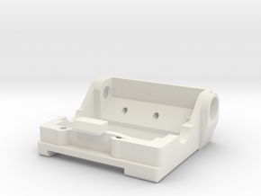 LM Replacement Motor mount in White Natural Versatile Plastic