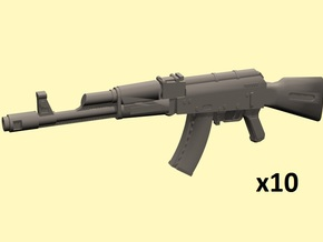 28mm AK-74 in Smoothest Fine Detail Plastic