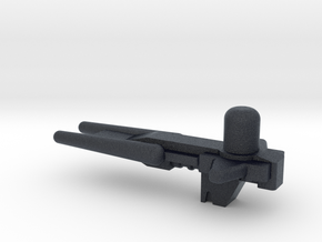 Transformers Decepticon Full-Tilt gun. in Black Professional Plastic
