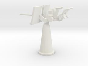 1/48 Scale 20mm Gun Mount Mk5 in White Natural Versatile Plastic