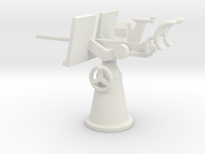 1/72 Scale 20mm Gun Mount Mk2 in White Natural Versatile Plastic