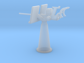 1/87 Scale 20mm Gun Mount Mk5 in Smooth Fine Detail Plastic