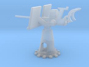 1/87 Scale 20mm Gun Mount Mk6 in Smooth Fine Detail Plastic