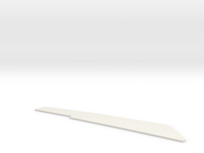 Ventral Fin in White Natural Versatile Plastic