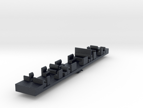 HC1 - VR Harris HT1 Dummy Chassis in Black PA12