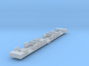 HC4 - VR Harris HT4 Dummy Chassis in Smooth Fine Detail Plastic