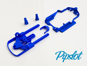 Universal Pipchassis SL Mk2 in Blue Processed Versatile Plastic