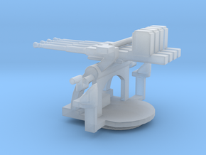 1/128 Scale 1.1 inch Mount Mk2 in Smooth Fine Detail Plastic