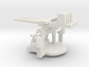 1/72 Scale 1.1 inch Mount Mk2 in White Natural Versatile Plastic