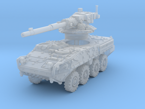 M1128 Stryker scale 1/144 in Smooth Fine Detail Plastic
