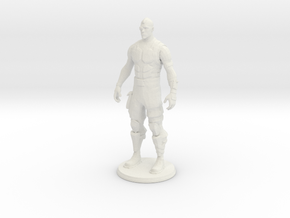 Printle V Homme 1782 - 1/24 in White Natural Versatile Plastic