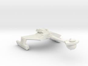 3125 Scale Romulan KRM Mauler Cruiser (Smooth) in White Natural Versatile Plastic