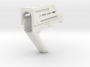 MP32PDW Carbine Conversion in White Natural Versatile Plastic