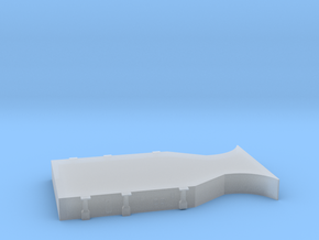 1/400 Scharnhorst Hangar Deck6 in Smooth Fine Detail Plastic