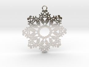 Ornamental pendant no.4 in Platinum