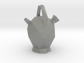 Botijo Low Poly in Gray Professional Plastic