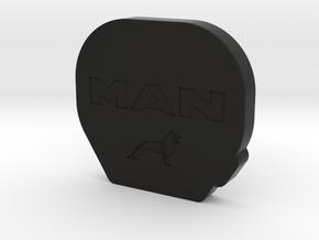 THM 00.0082 Cover Tamiya fifth wheel MAN in Black Natural Versatile Plastic